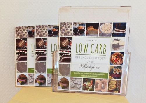 """Buch Low Carb - gesunde Leckereien """"ohne"""" Kohlenhydate von Sabine Witzke"""